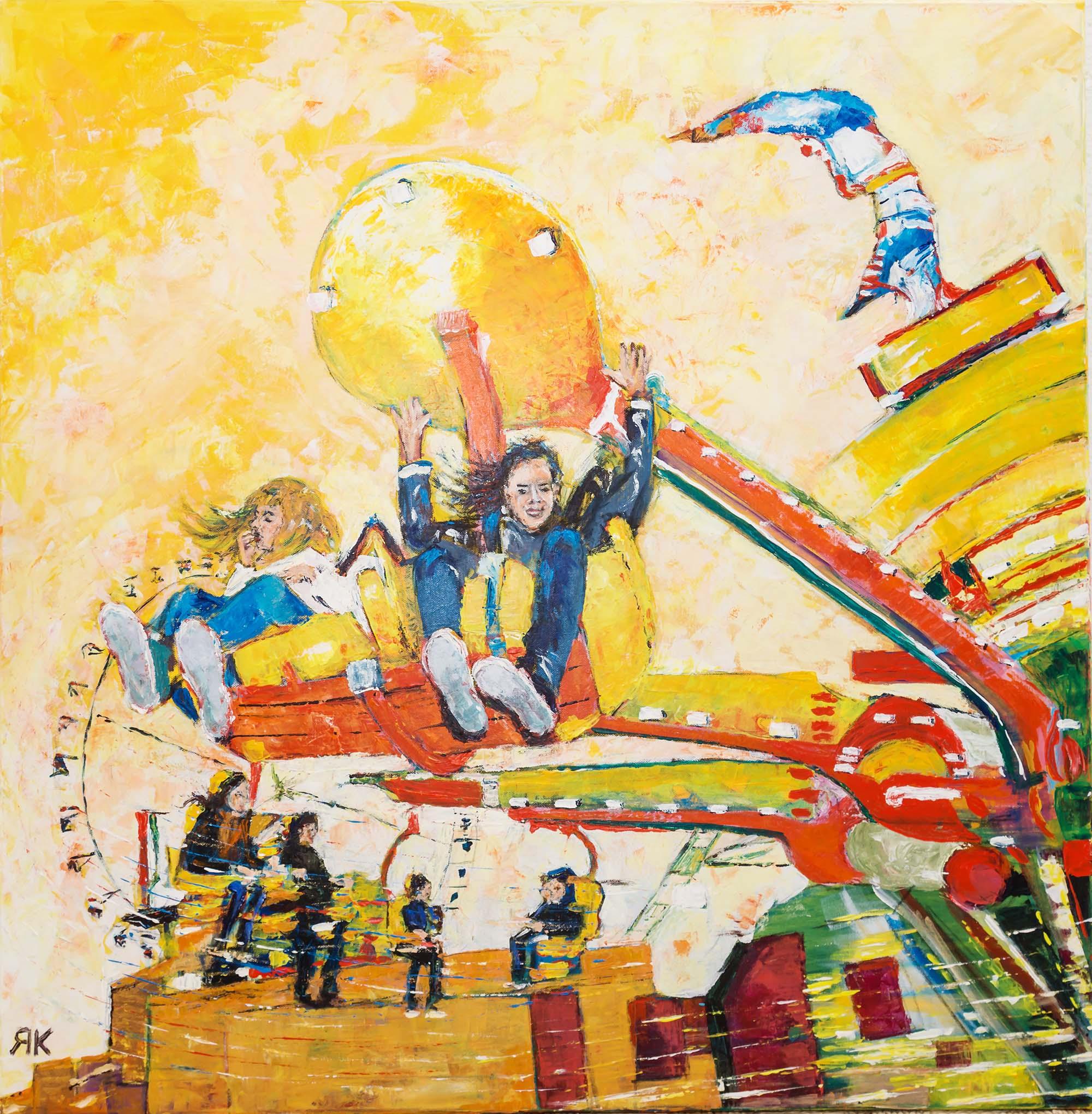 Amusement park movements by Ria Kieboom